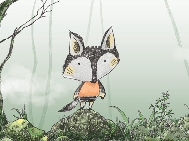 Children's Picture Book – 'Bad Wolf Cub'